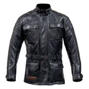 Spada Berliner Leather Jacket Black